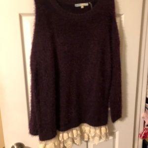 Plum Sweater Dress